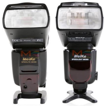 Los clones del Canon 580EX II y el Nikon SB-900 llegan de la mano de Meike