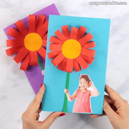 Manualidades Dia Madre Tarjeta Foto
