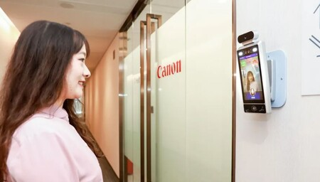 El reconocimiento de sonrisas llega a la oficina de Canon en China: así es la tecnología que te deja entrar e imprimir documentos