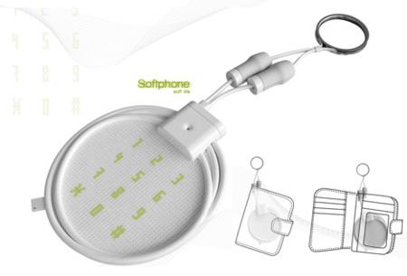 SoftPhone, concepto de móvil de algodón