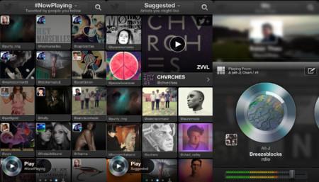 Twitter se mete de lleno en el mercado musical con Twitter Music para iOS