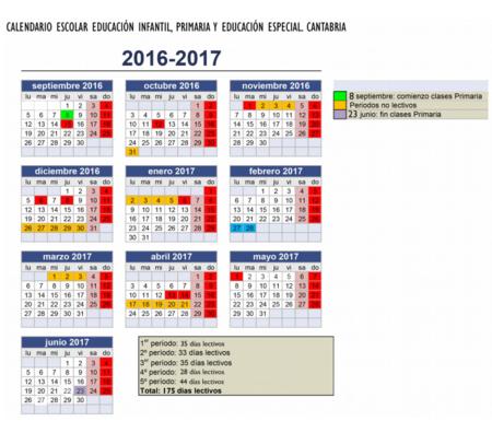 calendario-escolar-cantabria-primaria