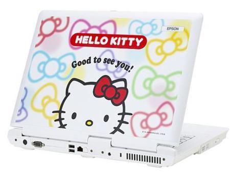 Portátil de Hello Kitty