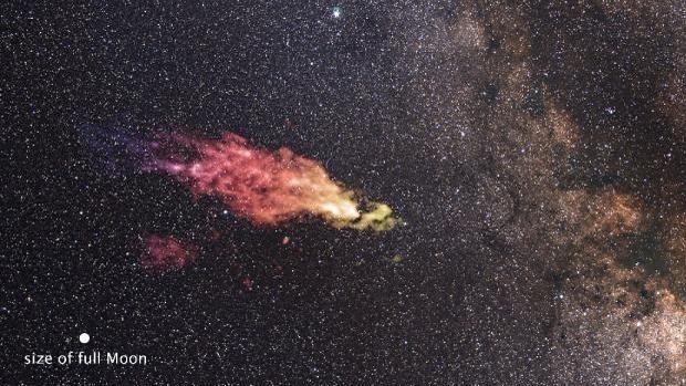 Una nube de gas se dirige en rumbo de colisión hacia la Vía Láctea
