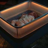Ford ha diseñado una cuna que simula el movimiento del coche para dormir bebés... sí, en serio