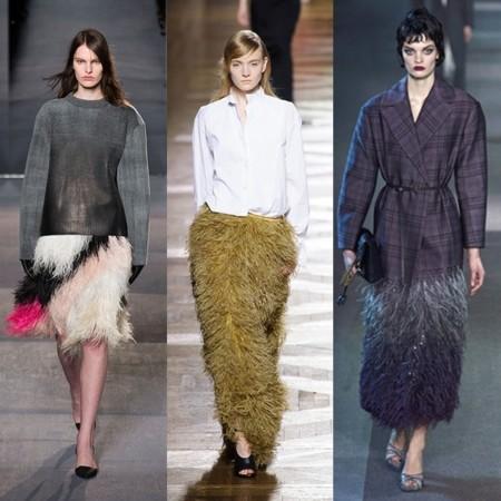 ¿Quieres ser una trendsetter? Luce plumas ahorita mismo