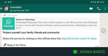 Flechas de reenvíos de WhatsApp: qué significan y cómo funcionan