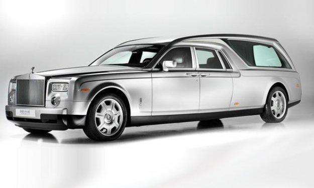 Rolls-Royce Phantom fúnebre