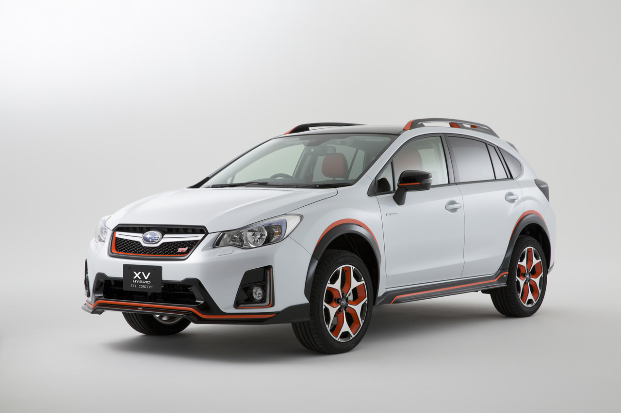 Foto de Subaru XV Hybrid STI Concept (1/7)