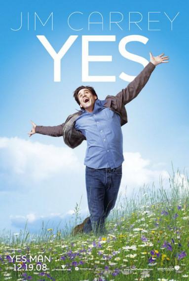 'Yes Man' ('Di que sí'), póster y primer trailer