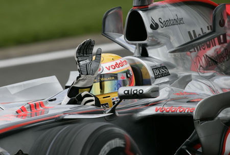 Espectacular pole de Lewis Hamilton en Silverstone
