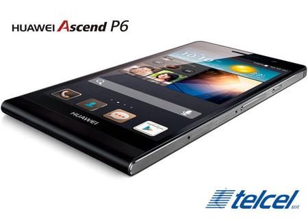 Huawei Ascend P6 ahora disponible con Telcel