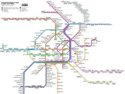 El crecimiento de las plantas se parece a la arquitectura de las líneas del metro