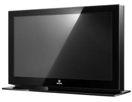 Televisor de Samsung y Armani