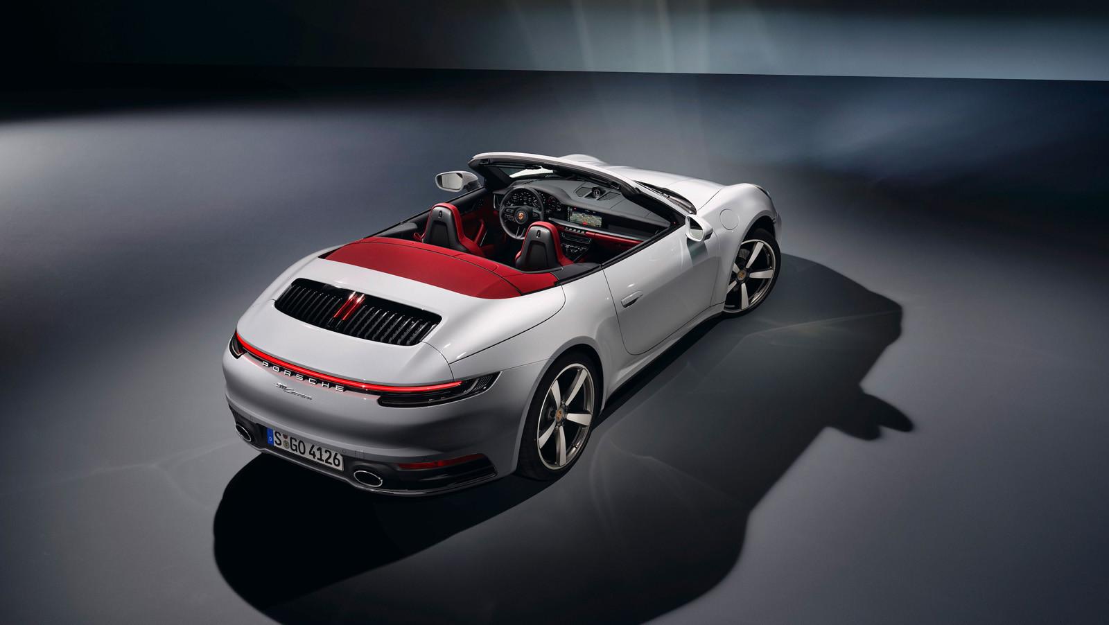 Foto de Porsche 911 Carrera y Carrera Cabriolet 2019 (7/12)