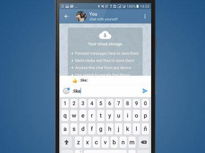 Con Telegram 4.2.2 puedes buscar emojis por su nombre y hacer mejores búsquedas