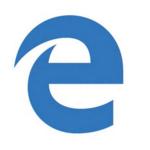 Este será el logo de Edge, el navegador que reemplazará a Internet Explorer