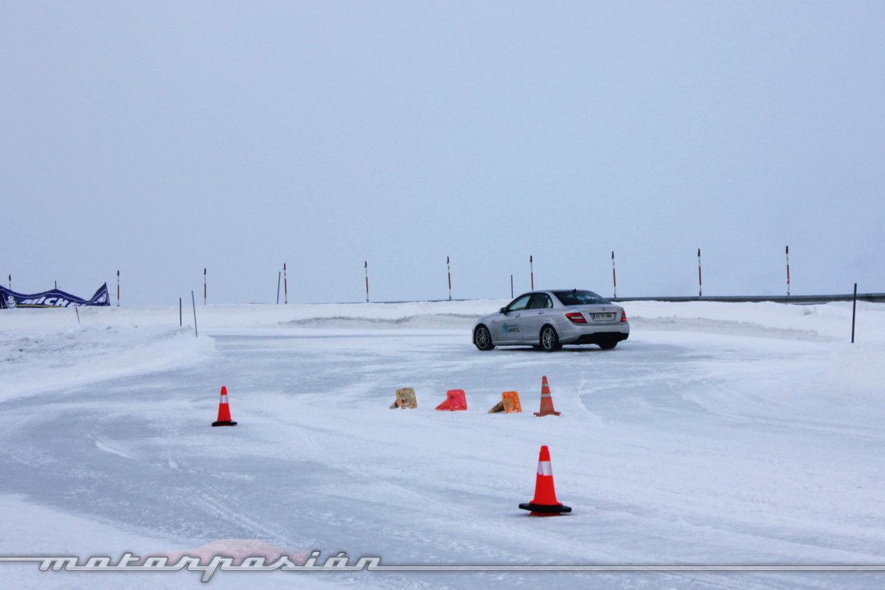 Foto de Michelin Pilot Alpin y Michelin Latitude Alpin, Experiencia 4Matic (3/27)