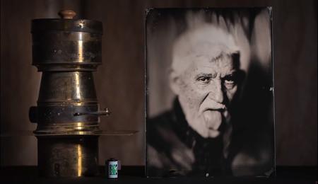 Este fotógrafo muestra cómo restauró y utilizó una enorme óptica Petzval de 500 mm F4.5 de 160 años de antigüedad
