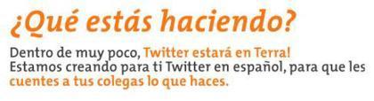 Twitter estará en español - Desmentido