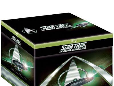 La serie completa Star Trek: La Nueva Generación, en Blu-ray, por 64 euros
