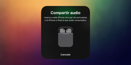 compartir audio iOS 13
