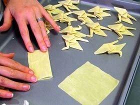 Origami en tu comida