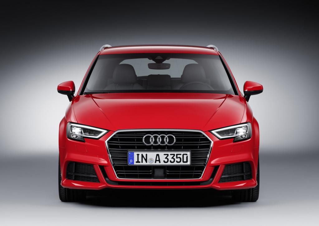 Audi A3 2017 frontal