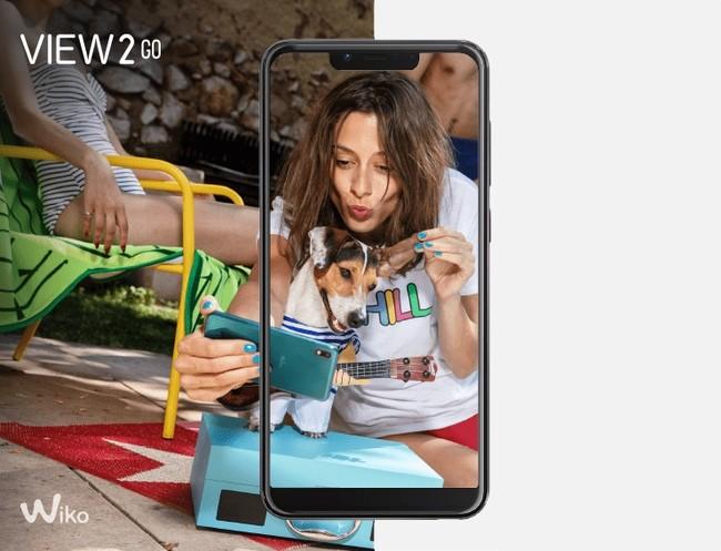 Wiko View 2 Go: un gama de entrada con acabado de cristal, pantalla con 'notch' y 4.000 mAh de batería