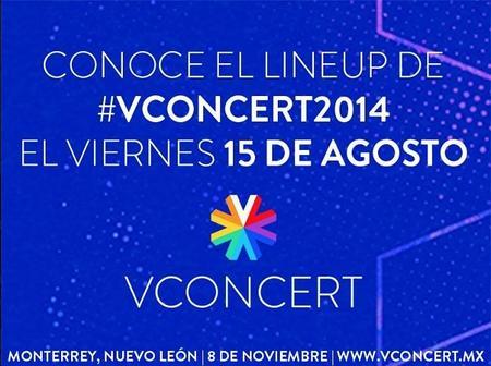 El VCONCERT 2014 está a punto de revelar su lineup