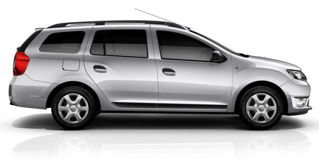 Dacia Logan MCV 2013 vista lateral