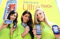 Teléfonos de Samsung y LG en el MWC 2009