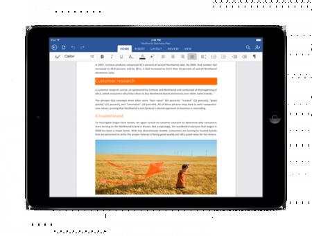 Microsoft golpea: ahora Office para iOS permite la edición sin necesidad de suscripción