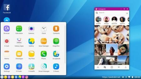 Así se vería la versión escritorio del Samsung Galaxy S8, otro paso más en la fusión PC y mobile