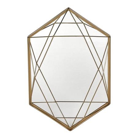 Espejo Decorativo Hexagonal Diamante Room El Corte Ingles