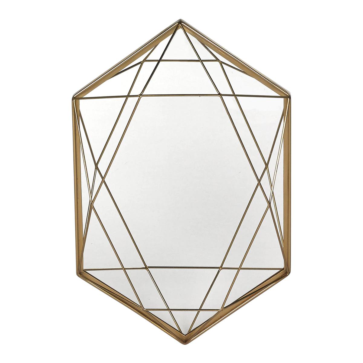 Espejo decorativo hexagonal Diamante Room - El Corte Inglés