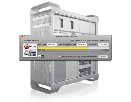 """ZDNet publica un programa para hacer """"overclocking"""" en los Mac Pro"""