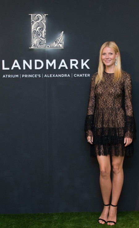 Gwyneth Paltrow Michael Kors transparencias