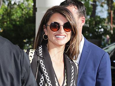 Penélope Cruz apuesta por las cadenas para su último look en Cannes