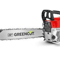 La motosierra de poda Greencut GS620X, con motor de gasolina de 2 tiempos de 62cc y 3,8CV de potencia cuesta 59,99 euros hasta medianoche en Amazon
