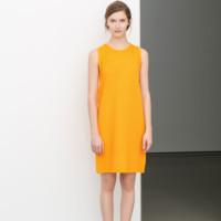 Naranja Vestido de Zara
