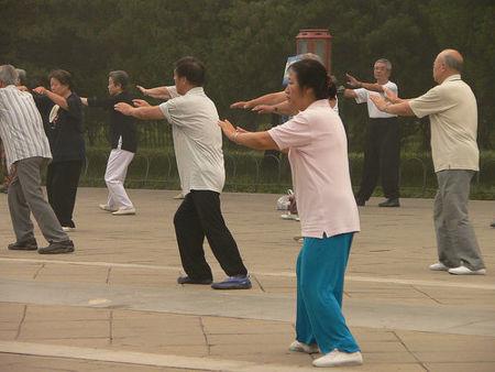 Tai Chi: equilibrio, respiración y fuerza (I)