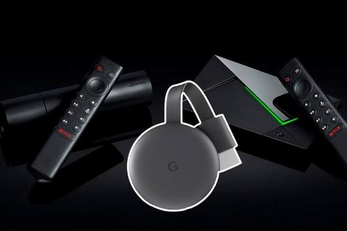 Android TV o Google Chromecast: diferencias, ventajas e inconvenientes