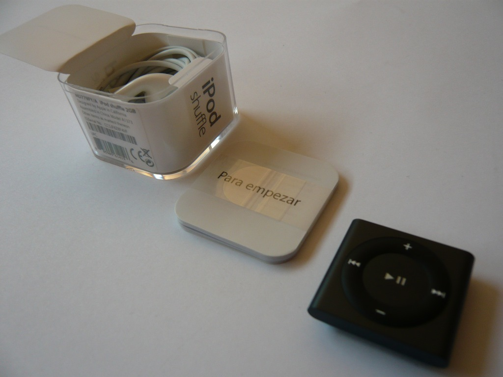 Nuevo iPod shuffle 2012