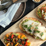 29 tostadas (o tostas) para desayunar o cenar, originales, deliciosas y rápidas