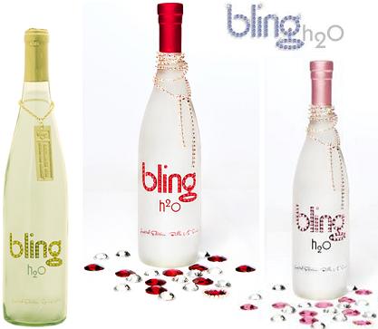 Bling H2o, una botella de agua de unos 400 euros
