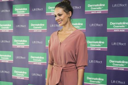 Eva Gonzalez presenta a los medios Dermatoline Cosmetic Lift Effect, el antiedad basado en la activación de la microcirculación cutánea