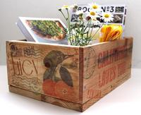 Hazlo tú mismo: cajas para adorno y almacenaje con trozos de viejos palés
