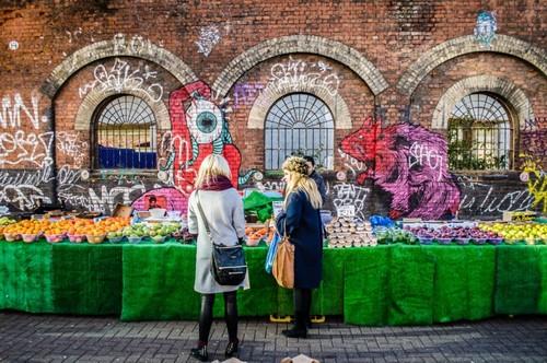 ¿Que en Londres se come mal? Estos siete mercadillos de comida callejera nos harán cambiar de opinión