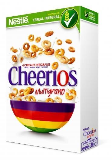 Cheerios multigrano de Nestlé